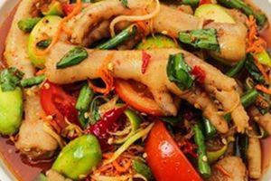 Cách làm chân gà xốt Thái chua, ngọt, giòn ngon không thể cưỡng lại