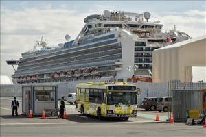 Dịch COVID-19: Du thuyền Diamond Princess được rời cảng Yokohama, Nhật Bản