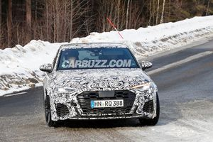 Lộ diện hình ảnh đầu tiên của Audi RS3