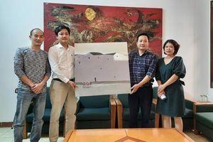 Báo An ninh Thủ đô phối hợp với Indochineart tổ chức 'Đấu giá tác phẩm nghệ thuật - Vượt qua đại dịch Covid-19