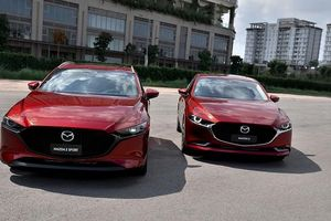 300 xe Mazda3 vừa 'ra đời' đã phải triệu hồi để sửa lỗi phanh chủ động