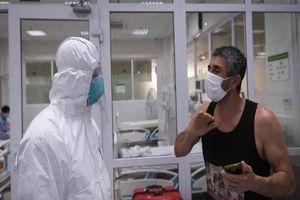 1 ca liên quan đến bệnh nhân 'siêu lây nhiễm' số 34 sẽ ra viện