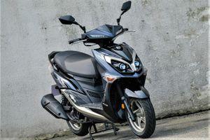 SYM JET SR ra mắt với động cơ 125 cc, giá từ 730 USD