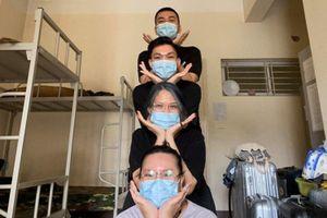 Du học sinh Việt xin lỗi, giúp đỡ đội hậu cần ở khu cách ly