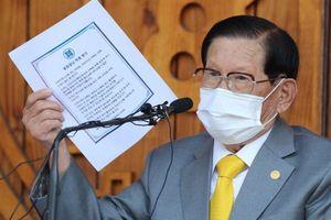 Seoul đòi giáo phái Tân Thiên Địa bồi thường hơn 200.000 USD