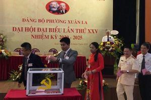 Quận Tây Hồ chỉ đạo thành công Đại hội điểm tại Đảng bộ phường Xuân La