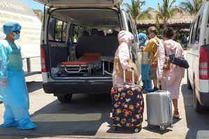 Ba du khách cách ly tại Bình Thuận âm tính với virus SARS-CoV-2