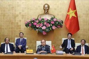 Thủ tướng Nguyễn Xuân Phúc dự Hội nghị thượng đỉnh trực tuyến G20