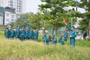 Xây dựng lực lượng Dân quân tự vệ vững mạnh, rộng khắp, đáp ứng tốt yêu cầu nhiệm vụ