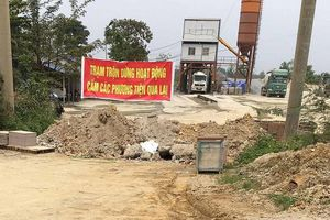 Công ty bê tông Thăng Long sai phạm: 'Chính quyền 'bất lực', quốc phòng 'bó tay' hay vì...'