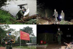259 học viên Biên phòng lên biên giới dầm mưa chống đại dịch