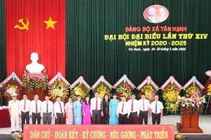 Đại hội điểm tại Đảng bộ xã Tân Hạnh (huyện Long Hồ, tỉnh Vĩnh Long)