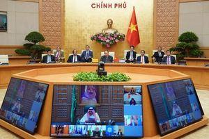 Thủ tướng Nguyễn Xuân Phúc dự họp thượng đỉnh trực tuyến G20 ứng phó Covid-19