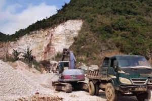 Rút giấy phép khai thác mỏ đá của Công ty Tản Viên