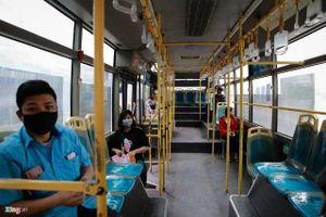 Hà Nội giảm 80% công suất hoạt động của xe buýt