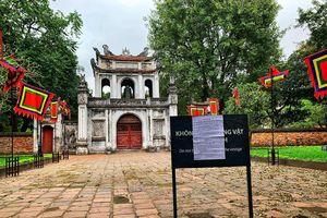 Quang cảnh vắng lặng ở các điểm du lịch, di tích Hà Nội mùa COVID-19