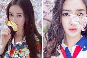 Sao nữ xứ Trung bên hoa đào: Dương Mịch khí chất, Angelababy như công chúa