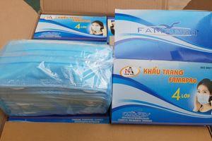 Hưng Yên: Tịch thu hơn 6.000 chiếc khẩu trang không có hóa đơn, chứng từ