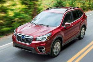 Subaru tung bộ phụ kiện đặc biệt cho Forester, giá 109 triệu đồng