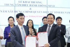 Hà Nam khai trương Trung tâm điều hành thông minh
