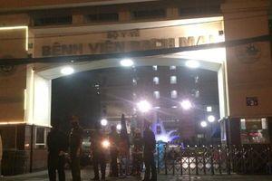 Lực lượng Công an đã gần 10 đêm trắng căng mình tại các điểm cách ly ở Bệnh viện Bạch Mai