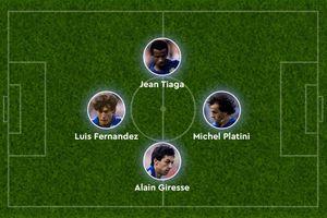 'Khối vuông huyền ảo' của bóng đá Pháp