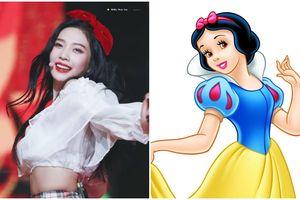 10 lần Joy thay đổi màu tóc, mặc đồ xinh đẹp như công chúa Disney