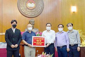 HLV Park Hang-seo ủng hộ 5.000 USD phòng chống dịch