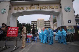 CDC Hà Nội đánh giá nguy cơ trong Bệnh viện Bạch Mai là rất cao