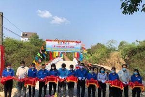 Tỉnh Đoàn Đồng Nai hoàn thành cây cầu dân sinh thứ 2 trong tháng Thanh niên