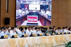 Tổ chức Hội nghị trực tuyến toàn quốc đẩy mạnh giải ngân vốn đầu tư công năm 2020