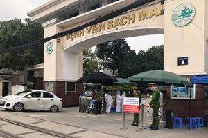 68 người phải cách ly vì 2 mẹ con nhiễm COVID tại BV Bạch Mai
