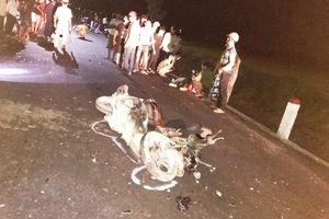 Bình Định: Hai xe máy va chạm, 3 người tử vong