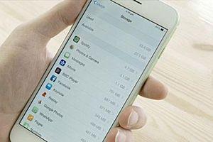 Hướng dẫn 'giải phóng' bộ nhớ iPhone để lưu ảnh, ứng dụng