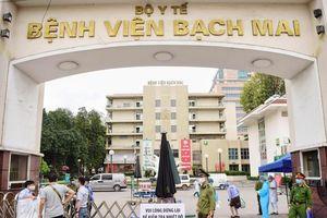 Cận cảnh công tác kiểm soát ở bệnh viện Bạch Mai
