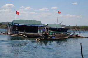 Khám phá cuộc sống 'nổi' trên lòng hồ Sê San