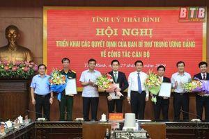 Thái Bình, Nghệ An bổ nhiệm nhân sự, lãnh đạo mới