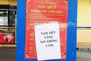 Giá xăng vừa giảm mạnh, nhiều nơi ở Quảng Nam đã 'cháy' hàng