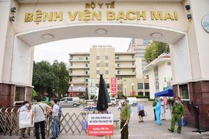 Hà Nội hỗ trợ cách ly y, bác sĩ Bệnh viện Bạch Mai ở khách sạn