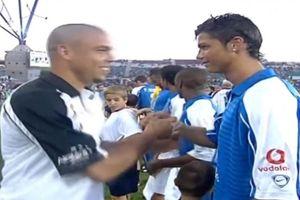 Cristiano Ronaldo thất bại trong lần duy nhất đối đầu Ronaldo 'béo'