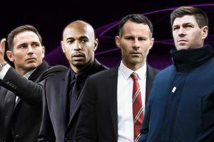 Dàn huyền thoại Premier League lần lượt theo nghiệp HLV