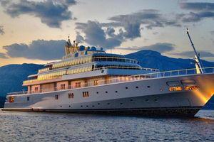 Du thuyền xa xỉ 590 triệu USD tỷ phú Mỹ dùng để tự cách ly