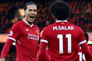Liverpool thống trị danh sách ứng viên Cầu thủ hay nhất Premier League