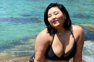 Người mẫu gần 90 kg ở Hàn Quốc từng muốn tự tử vì quá béo