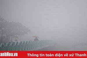 Thời tiết ngày 31/3: Thanh Hóa có mưa phùn và sương mù