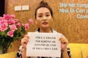 Bảo Thanh hát nhạc phim 'Về nhà đi con' phiên bản chống dịch