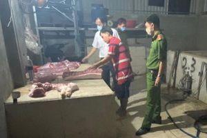 Bắt quả tang cơ sở giết mổ lợn không rõ nguồn gốc ở Đồng Nai