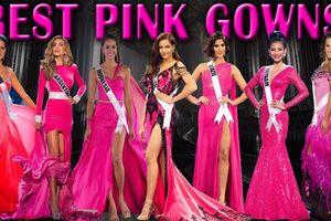 Váy hồng kén dáng hiếm hoi tại Miss Universe, Việt Nam có Trương Thị May tự tin chơi lớn