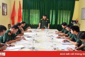 Công bố quyết định giải thể Trường Quân sự tỉnh An Giang