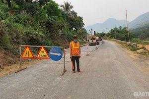 Đảm bảo ATGT tại dự án sửa chữa Quốc lộ 4G sau phản ánh của Báo Giao thông